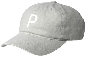 Puma P Adjustable Cap (Quiet Shade) Baseball Caps