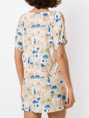 Lygia & Nanny Allat print tunic