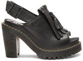 Dr. Martens Seraphina Slingback Kiltie Sandal in Black. - size 6 (also in 7)
