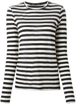 Proenza Schouler striped T-shirt - women - Cotton - L