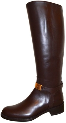 Rupert Sanderson Brown Leather Boots