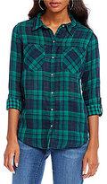 Westbound Two-Pocket Boyfriend Shirt