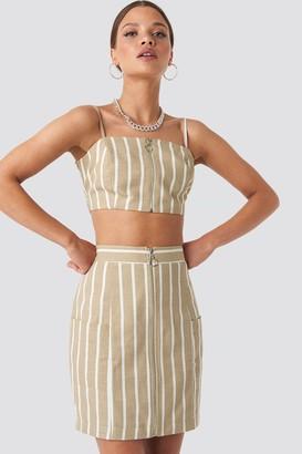 Nicci Hernestig X NA-KD Zipped Skirt