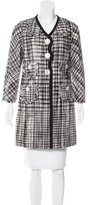 Marc Jacobs Wool Patterned Coat w/ Tags