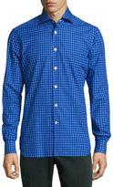 Kiton Regular-Fit Patterned Shirt