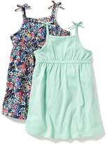 Old Navy Bow-Tie-Shoulder Fit & Flare Dress 2-Pack for Toddler Girls
