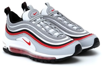 Nike Kids Air Max 97 leather sneakers