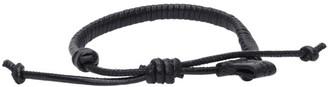 Bottega Veneta Black Nappa Bracelet