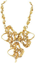 One Kings Lane Vintage Gold Abstract Necklace