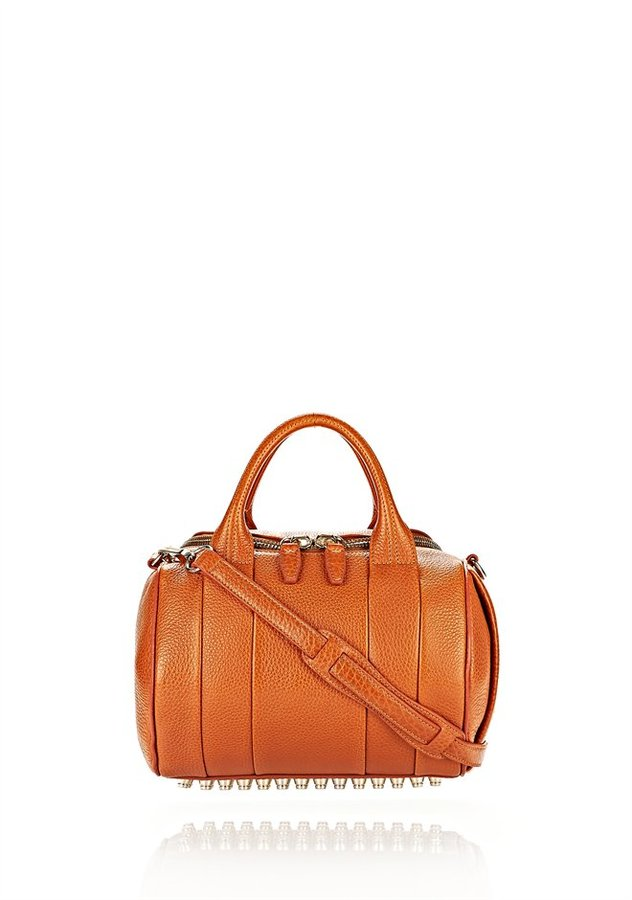 Alexander Wang Rockie In Soft Heritage With Pale Gold