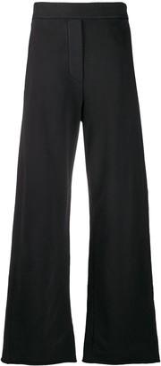 MM6 MAISON MARGIELA Wide-Leg Cotton Track Pants