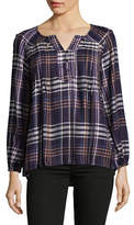 Style And Co. Petite Plus Plaid Tunic
