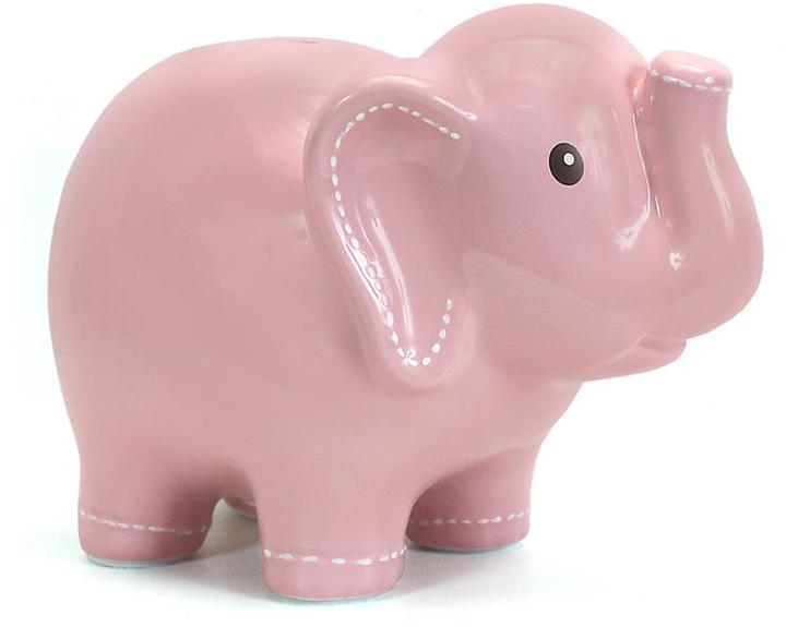 Piggy Bank Elephant- Pink