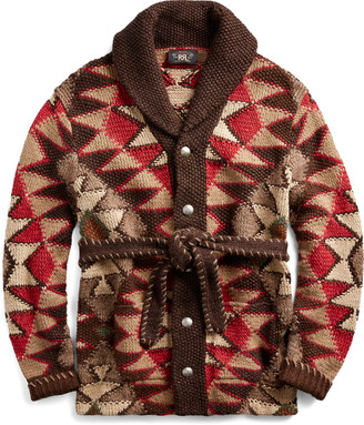 Ralph Lauren Hand-Knit Ranch Cardigan