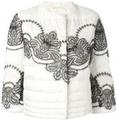 Ermanno Scervino padded cropped jacket