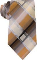 Van Heusen Shaded Plaid Silk Tie