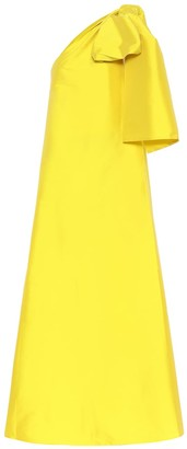 BERNADETTE Winnie one-shoulder midi dress