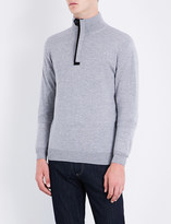 Canali High-neck wool jumper