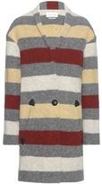 Etoile Isabel Marant Isabel Marant, Étoile Gabrie striped wool-blend coat