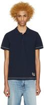 Marc Jacobs Navy Cotton Polo