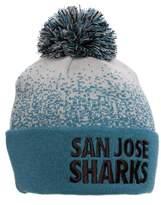 Mitchell & Ness San Jose Sharks Beanie w/ Pom