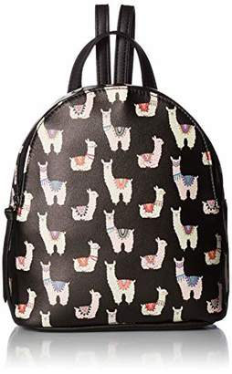 T-Shirt & Jeans Womens Standing Llama Backpack