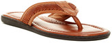 Tommy Bahama Archer Whipstitch Leather Flip Flop Sandal