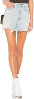 A Gold E AGOLDE Quinn High Rise Skirt.
