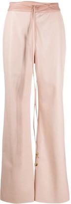 Nanushka Chimo flared trousers