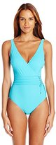 Gottex Women's Jezebel Surplice One Piece Swimsuit