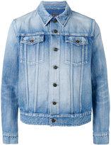 Saint Laurent stonewashed jacket - men - Cotton - M