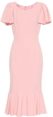 Dolce & Gabbana Cady-crepe midi dress