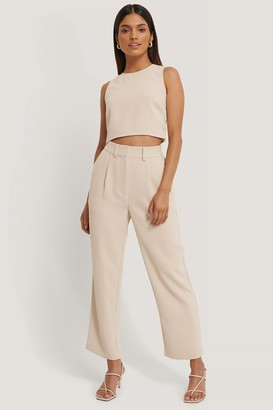 Jldrae X NA-KD High Waist Suit Pants