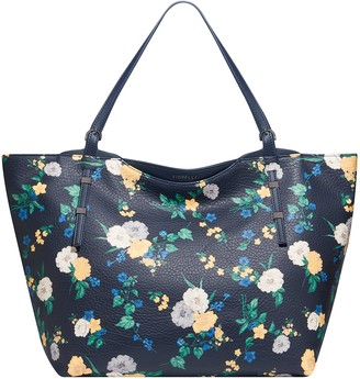 Fiorelli Women's Soho Canvas and Beach Tote Bag (Regents Black Floral Print)