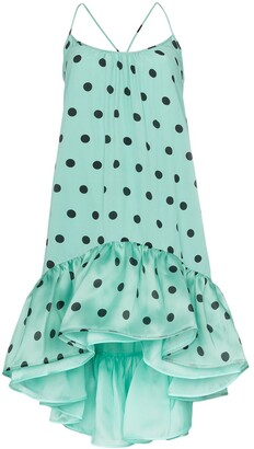 Silvia Tcherassi Brigid polka-dot print dress