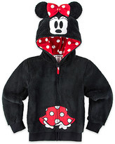 Disney Minnie Mouse Plush Hoodie for Girls