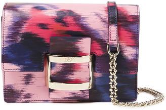 Roger Vivier Printed Leather Shoulder Bag