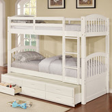 Wildon Home Arthur Twin Bunk Bed with Trundle and Storage