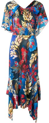 Peter Pilotto Asymmetric Day Dress
