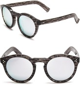 Illesteva Mirrored Leonard Ii Sunglasses, 50mm