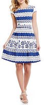 Daniel Cremieux Avery A-line Lace Dress