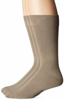 Chaps Men's Solid Supersoft Socks 3 Pair