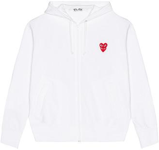 Comme des Garcons Sweatshirt in White | FWRD