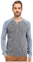 Lucky Brand Grey Label Color Block Henley