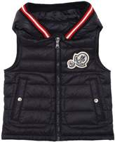 Moncler Hooded Nylon Down Vest