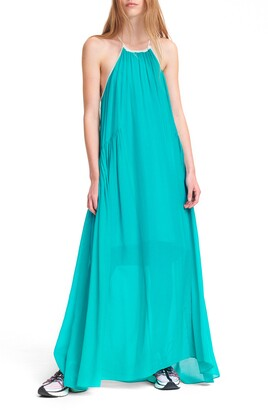 Rag & Bone Melody Silk & Cotton Maxi Dress