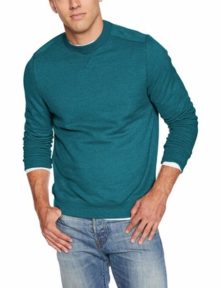 G.H. Bass & Co. Men's Mountain Wash Fleece Crew Long Sleeve Sweatshirt