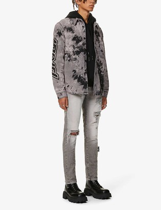 Off-White Ripped faded skinny jeans