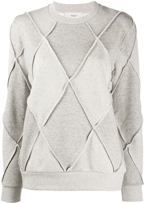 Pringle Argyle Long-Sleeve Jumper