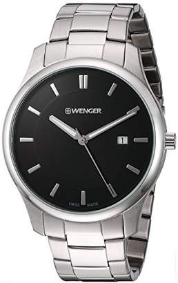 Wenger Men's City Classic Swiss-Quartz Watch with Stainless-Steel Strap